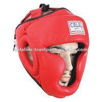 Real Leather Boxing Head Protector
