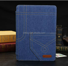 Cute silicone shockproof T039 jean case for ipad mini