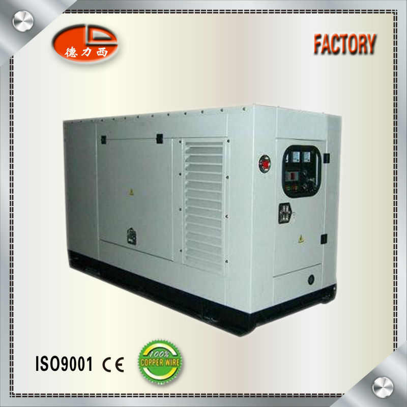 Chinese Brand Weichai Engine Portable Silent Type Diesel Generator For Sale(CE Approval)