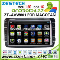 (Factory Price) 8 inch touch screen Car DVD 2 din android radio gps car dvd player for VW golf 4