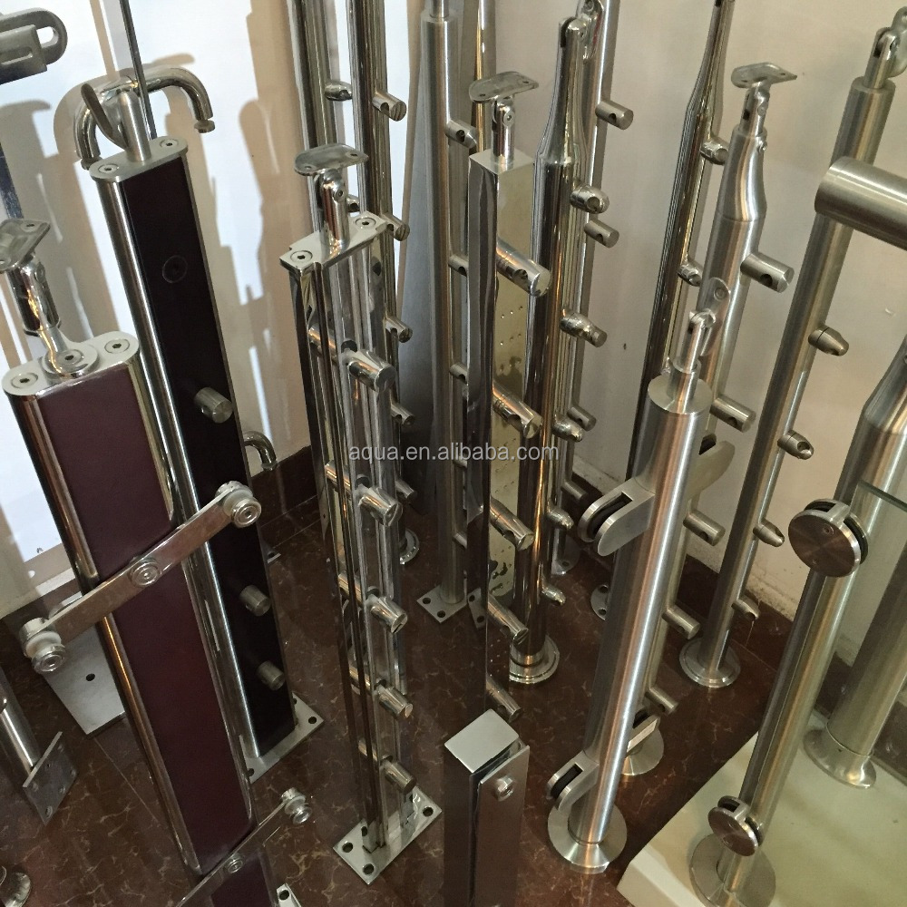 Stainless steel railing balustrade/stainless steel baluster stair post