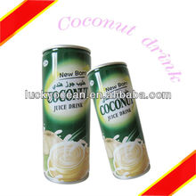 High protein canned coconut juice