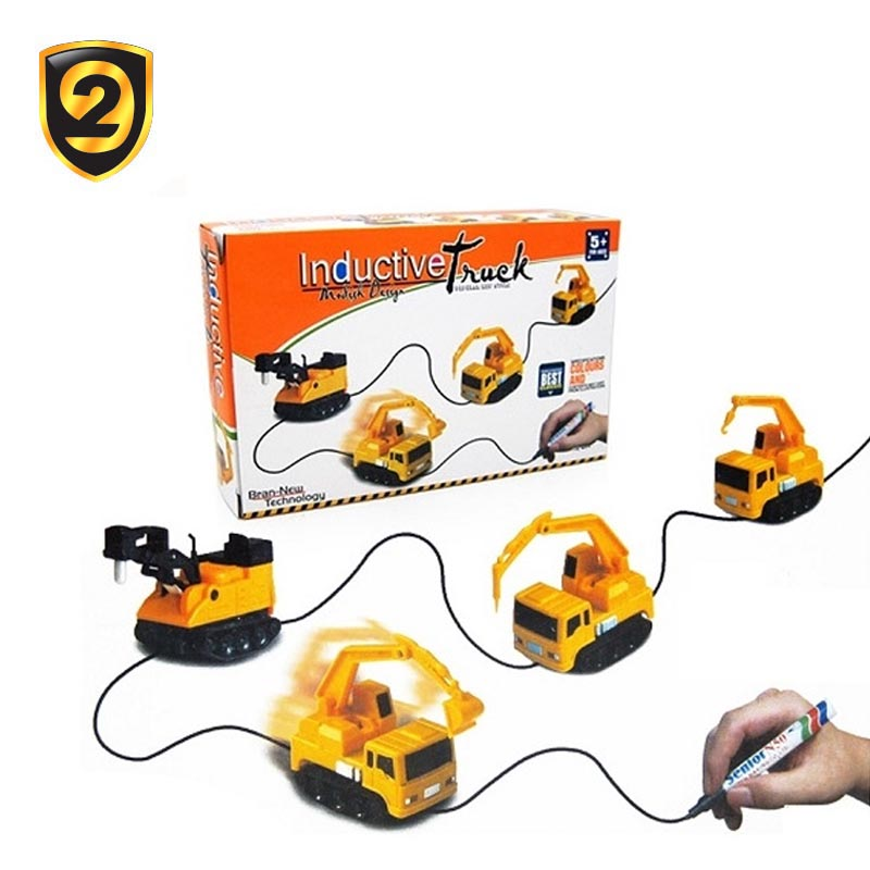 2017 innovative product magic pen inductive truck car toys