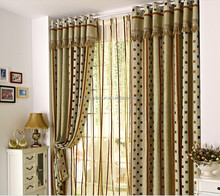 New luxury different styles of soundproof curtain