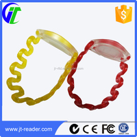 ABS 860~960MHz UHF RFID Wristband tag