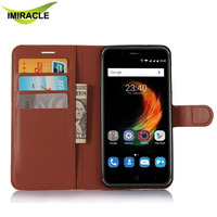 Book Style Flip Cover Leather Mobile Phone Case For ZTE Blade A610 Plus Accessories