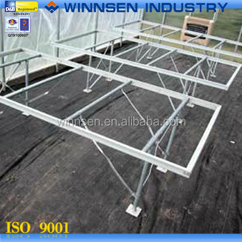High Performance Greenhouse Rolling Bench with Mash YS37001
