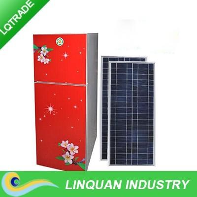 hoher kapazit t 138l solarstrom k hlschrank 35w solar. Black Bedroom Furniture Sets. Home Design Ideas