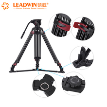 2018 Leadwin top selling VT-04 professional camera tripod with fluid head for video camera and dslr camera