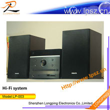 2014 hot hifi system with Karaoke , FM/AM radio ,DVD palyer