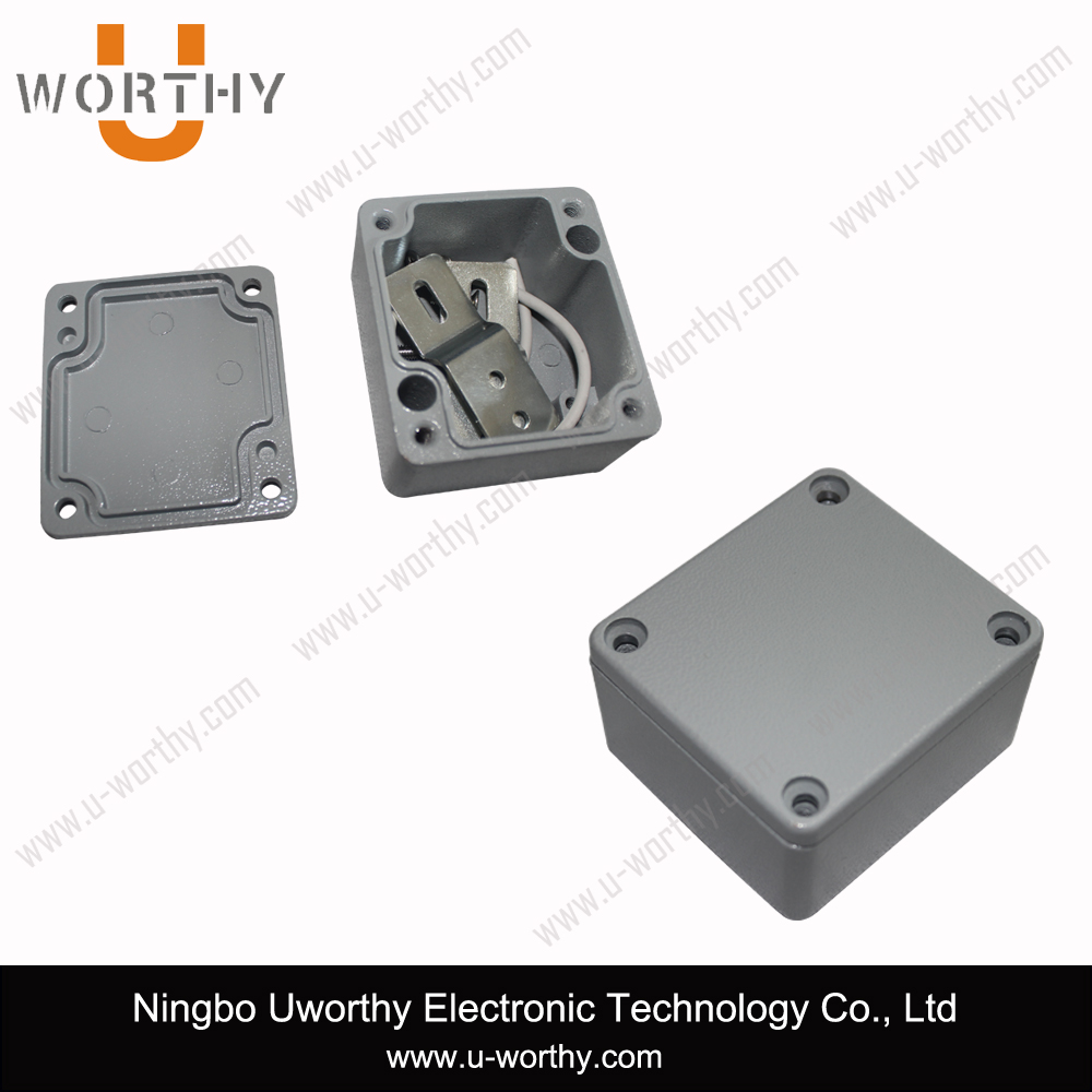 IP67 Enclosure Hot Sale Waterproof Aluminum Project Box with Cable Gland