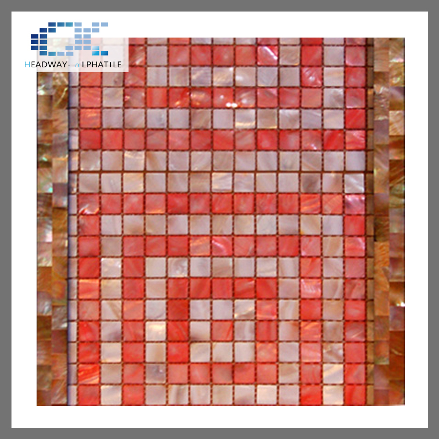 colored mother of pearl wall tiles/mosaic sheets for sale