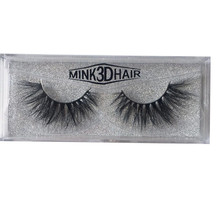 Custom Magnetic Package 100% Real Mink Eyelashes 3D Fluffy Fake Eye Lashes