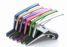 Colorful Aluminum Guitar Capo With Free Sample Available