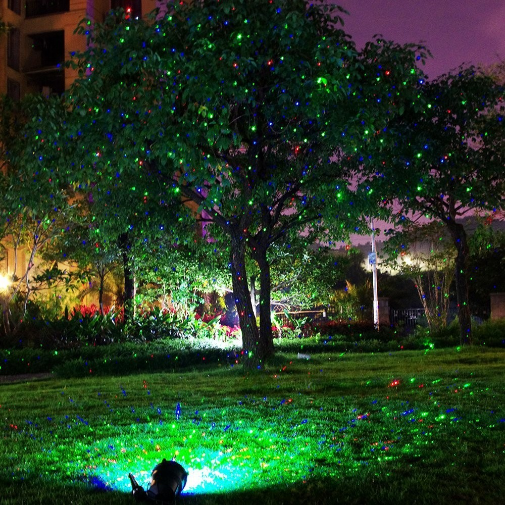 Party Supplies Outdoor Christmas Waterproof landscape laser lights