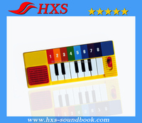 2015 Fast Delivery Children Toy Mini-Piano /Sound Keyboard for Children Soundbook