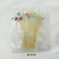 wholesale customized bamboo bbq stick/skewer for fruits with factory price