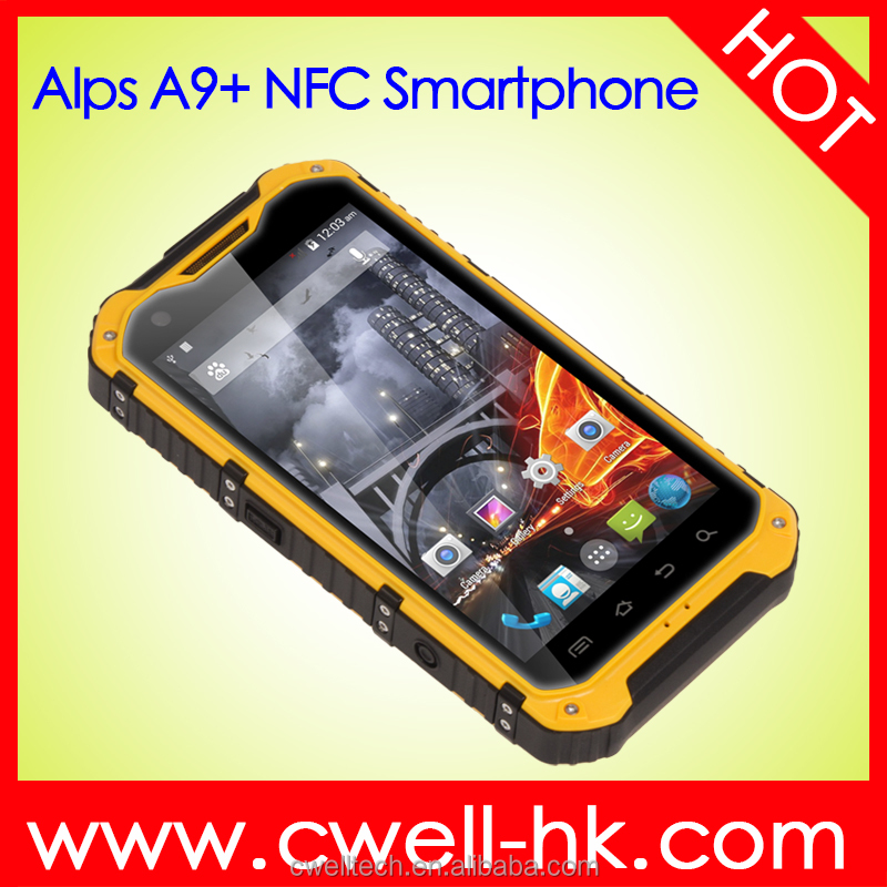 Unlocked 4.3 inch touch screen ALPS A9+ Rugged phone