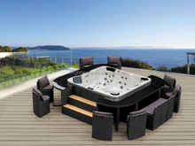 Rattan Wicker Outdoor Style SPA Furniture
