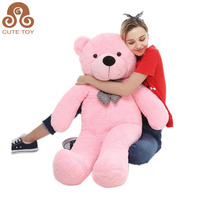 HI CE factory customized lovely new design cheap pink giant plush toys stuffed big size teddy bear