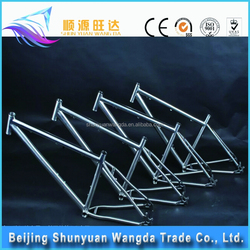 China manufacture 700C Titanium super light road bike frame