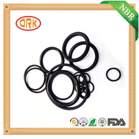 China Manufacturer Supply Cheap Waterproof Black Rubber NBR O-Ring