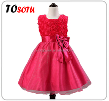 XD04 Summer baby girls wedding dress tutu lace dress flower girl dress
