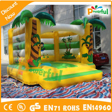 Crazy jumping! high quality colorful inflatable bouncer,used party jumpers for sale
