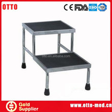 otto medical stainless steel foot step stool