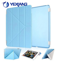 Strong Magnetic PU Stand Leather Case for iPad 2 3 4 Back Housing