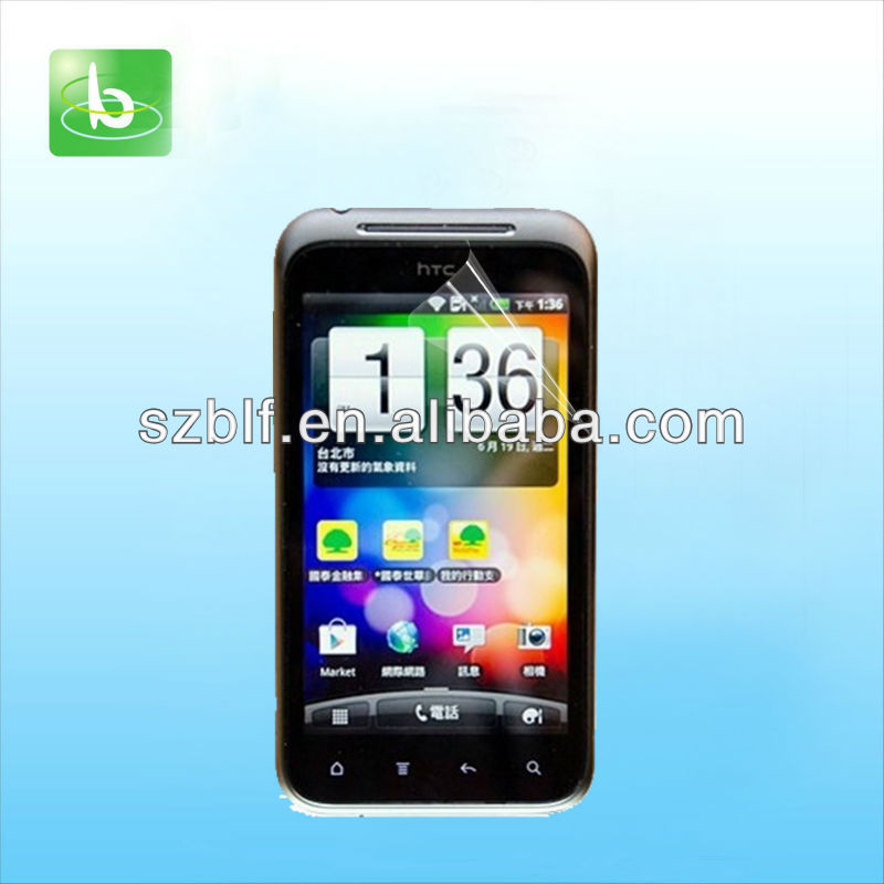 Newest manufacturer price screen protector for htc incredible E NFC