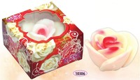 Hand made glycerin soap - White Rose 100 gr.