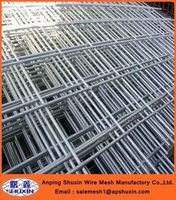 Galvanized 6x6 steel concrete reinforcing rebar welded wire mesh panel