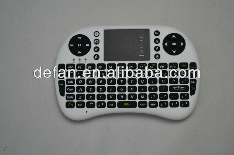 2.4g mini wireless keyboard and mouse for ipad/google tv