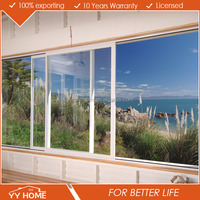 High quality aluminium frame glass cheap sliding window