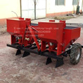 farm agricultural tractor 4 rows sower white potato planter