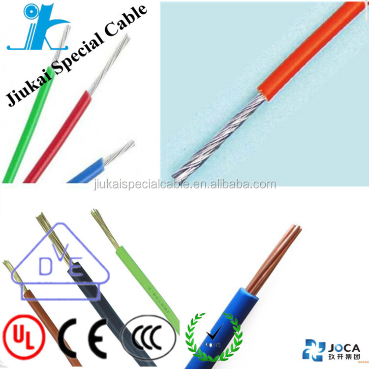 CE Standard Approved PVC Insulated Soft Bendable Single core copper cable wire H05V-K 0.5sqmm