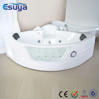 Cheap High Quality Small Corner Massage Triangular Bathtub