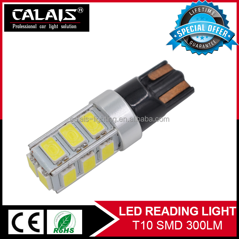 T10 194 168 W5W 2825 white/amber/yellow Canbus High Power SMD LED Light Bulbs for car cargo/dome lights