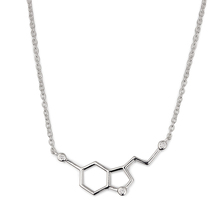 Renfook 2017 trend sterling silver double pentagons pendant necklace