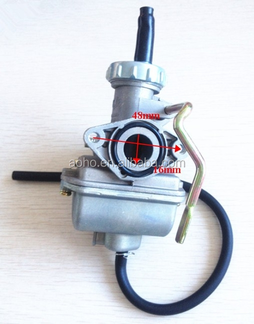 Kazuma 50cc ATV PZ16 Carburetor 16mm with long hand choke for Meerkat Wombat 50 quad bike
