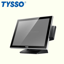 POS Manufacturer Black 15 inch Resistive Touch Screen POS Terminal