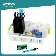 Toprank Customize Size Small Household Kitchen Food Fruit Vegetable Plastic Storage Basket With Handle