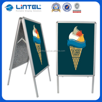 A1 double side Aluminum poster board A Frame
