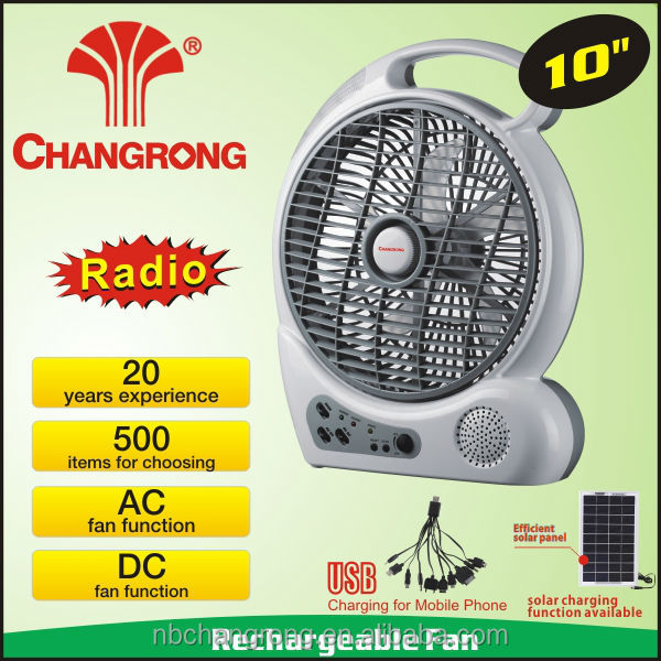 low voltage rechargeable table fan fan camping battery rechargeable air conditioner for car