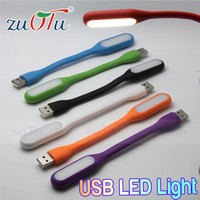 Hot selling high quality electronic silicone USB led light for notebook pc laptop
