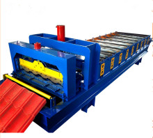 galvanized corrugated metal roof tile trapezoidal profile sheet roll forming making machine price