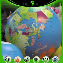 Hanging Inflatable Earth Balloons, Inflatable Globe With LED Light