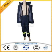 Starye Hot Sale Scientific Design Fire Proximity Water Proof Fire Fighting Suit