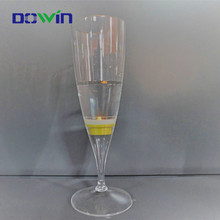 Promotional publicity high quality led champagne lighting cup glass